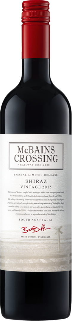 2015 McBains Crossing Shiraz
