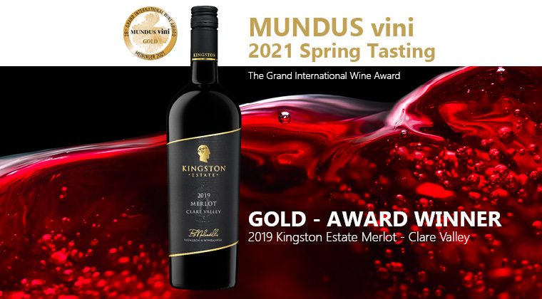 2019 Kingston Estate Merlot Gold Accolade